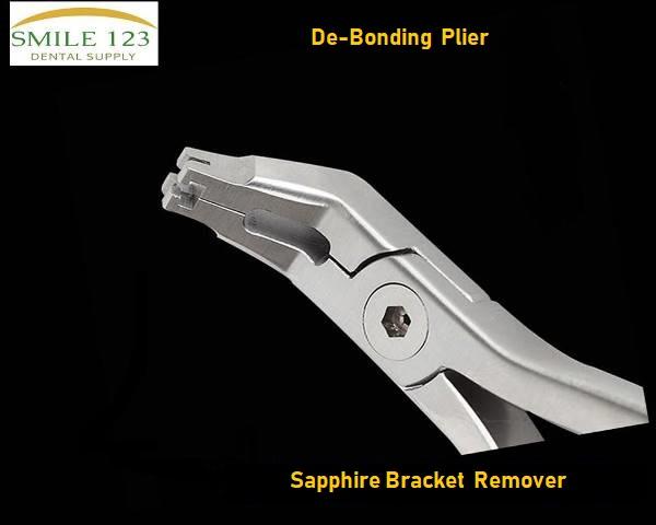 De bonding Plier sapphire bracket remover ceramic bracket plier